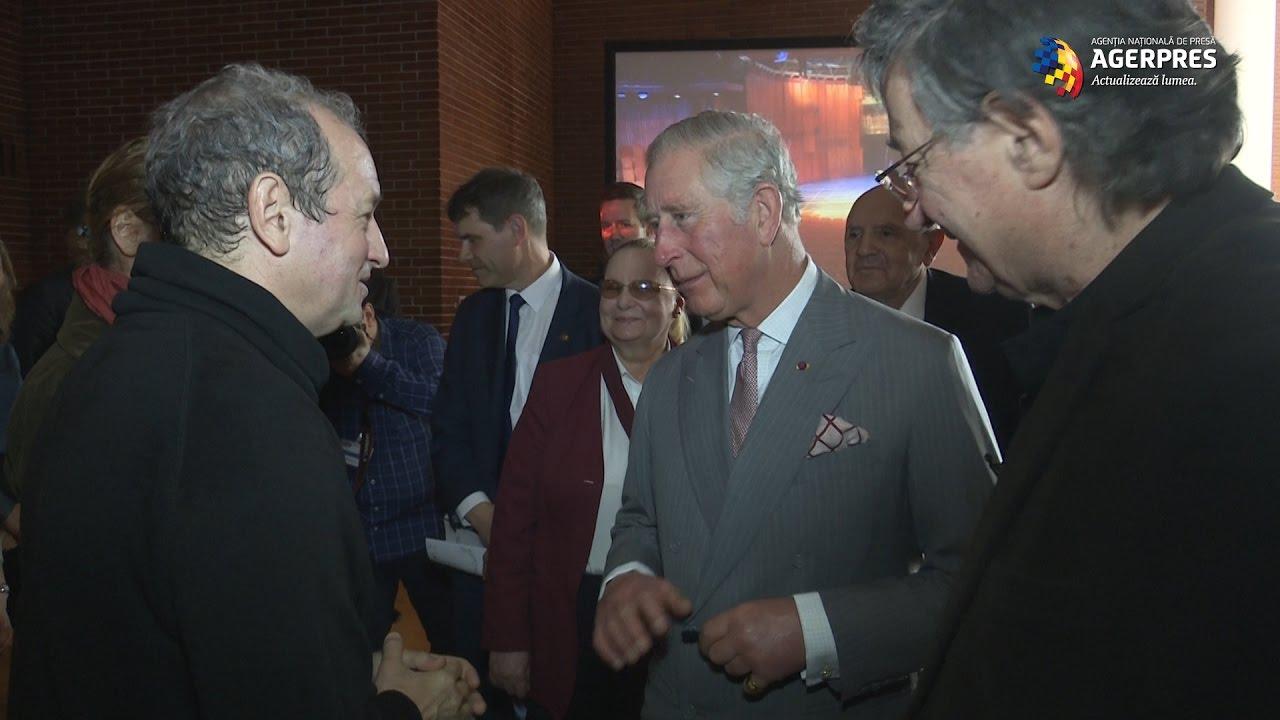 Ion Caramitru şi Dan Puric, spectacol pentru Prinţul Charles