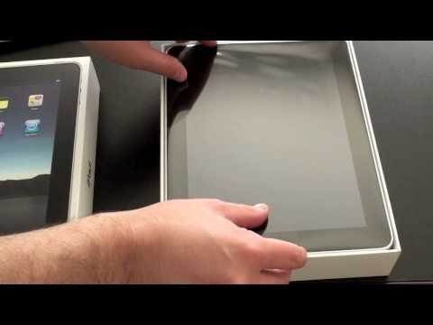 Apple iPad Unboxing!