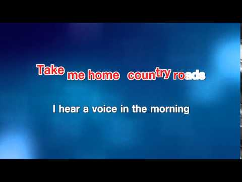 Take Me Home Country Road - John Denver [karaoke]