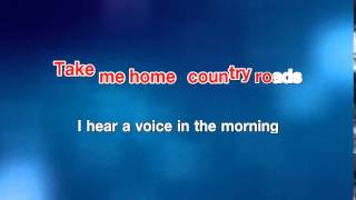 Take Me Home Country Road - John Denver [karaoke]