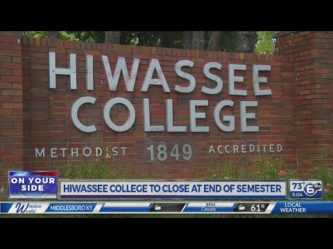 Students react to new of Hiwassee College closing at end of semester