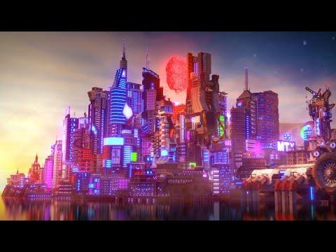 [4K] Cyberpunk Project - Minecraft Timelapse by Elysium Fire