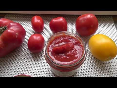 Домашняя томатная паста на зиму, помидоры в магазине зимой больше не покупаю. Эп.№171