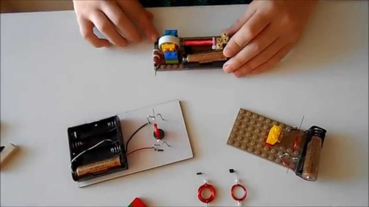 All experiments for simple electric motors with rotating coil - YouTube