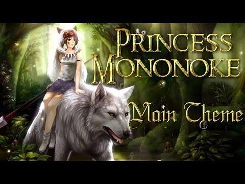 ★ Princess Mononoke Theme (Violin, Piano)