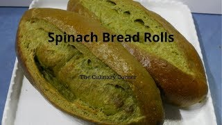 Loaded Spinach Bread Rolls