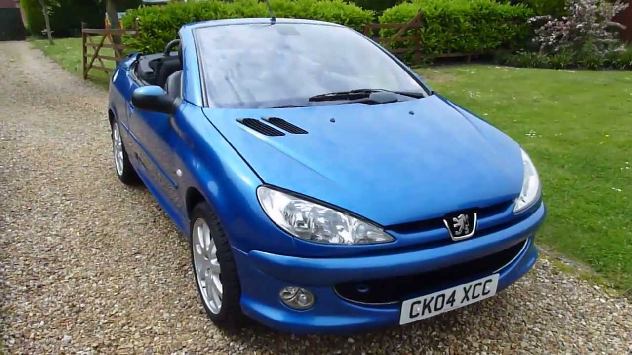 video review of 2004 peugeot 206 cc 2 0 convertible for. Black Bedroom Furniture Sets. Home Design Ideas