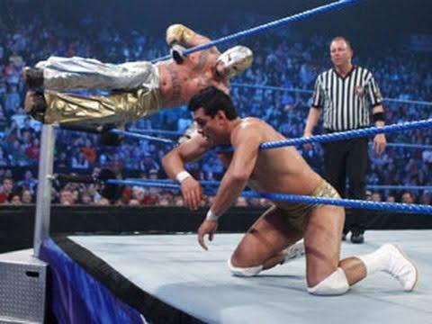 SmackDown: Rey Mysterio & Kofi Kingston vs. Kane & Alberto Del Rio