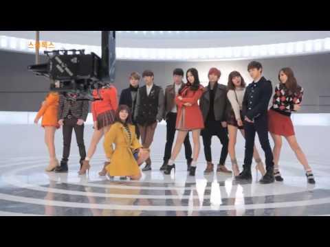 [BTS] SKOOLOOKS MV MAKING - BEAST & APINK