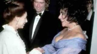 Elizabeth Taylor -  Larry Fortensky  - by Richard Bassett