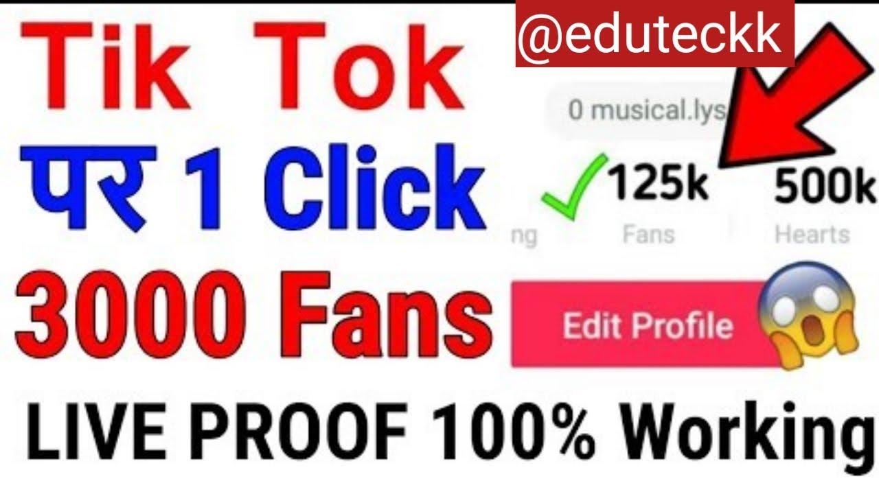 Tik Tok Followers Generator Apk