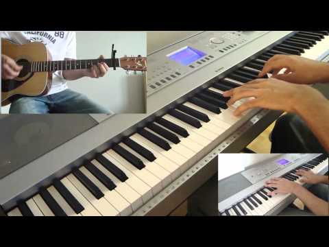 The Fray - Never Say Never Cover (Piano, Guitar)