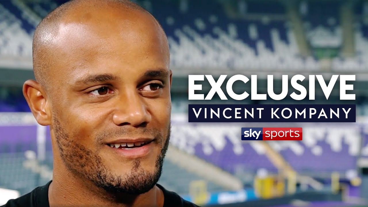 Vincent Kompany opens up about leaving Man City and becoming Anderlecht player-manager