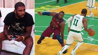 Kyrie Irving Plays NBA 2K19 & Breaks LeBron James Ankles GAMEPLAY (Parody)