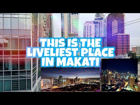 THE BUSIEST DISTRICT OF MAKATI
