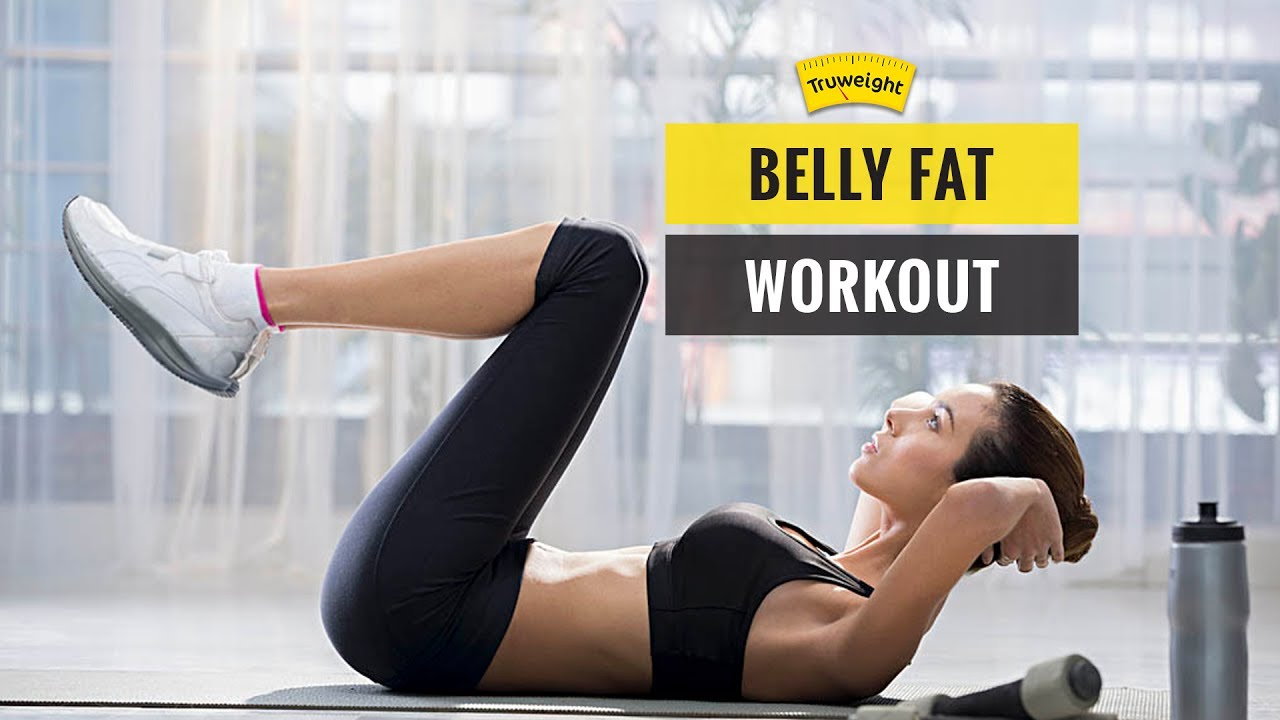 Flat stomach exercises reduce belly fat at home truweight