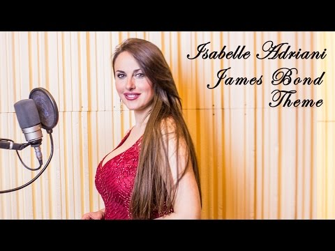 ISABELLE ADRIANI - To Movies With Love - James Bond Goldfinger Theme