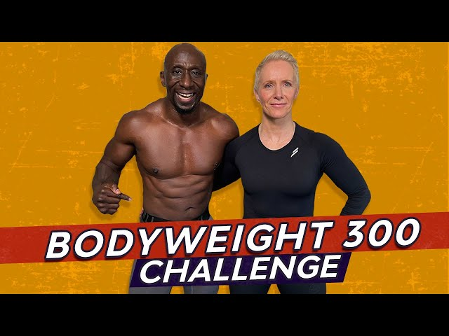Bodyweight 300 HIIT Workout Challenge