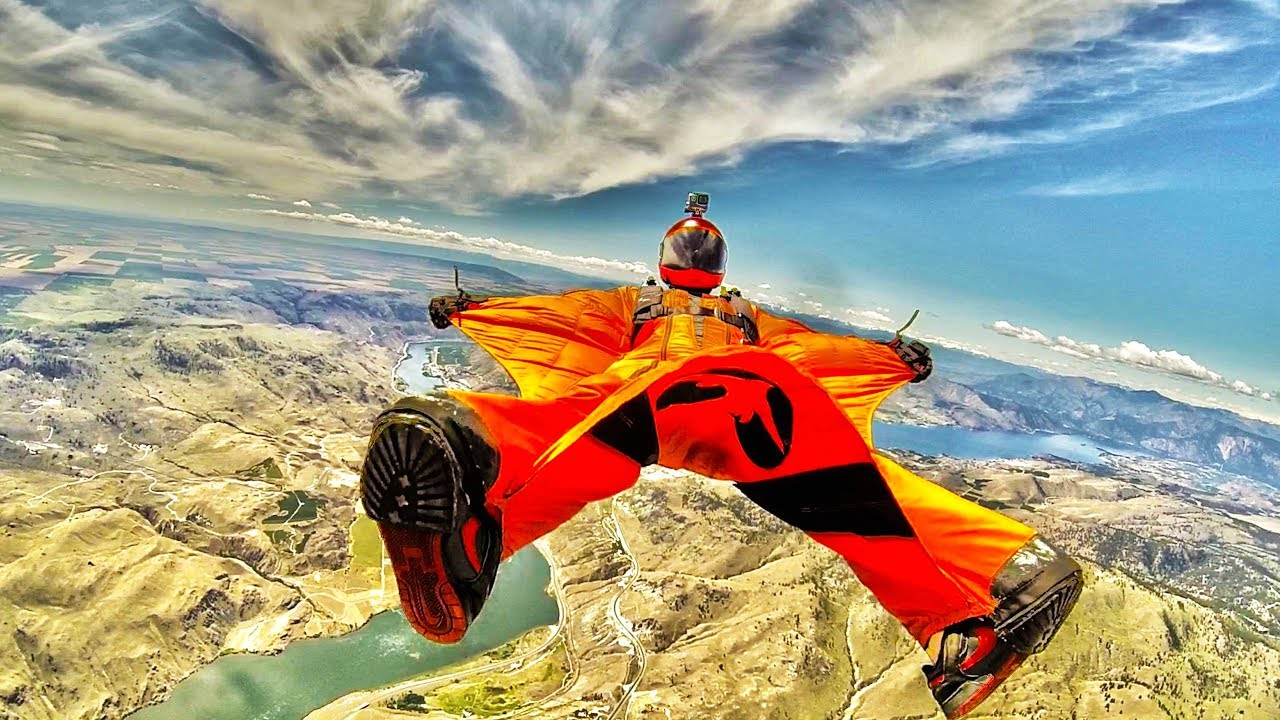 AWESOME Wing Suit FLYING ★ WINGSUIT PROXIMITY FLYING [Adrenaline TV]