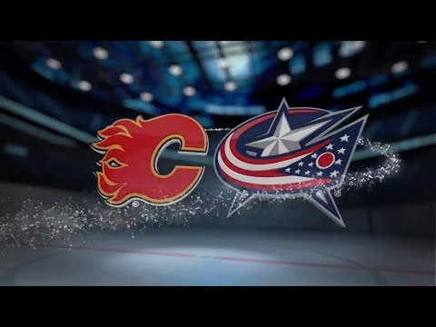 Calgary Flames vs Columbus Blue Jackets - November 22, 2017 | Game Highlights | NHL 2017/18  Обзор