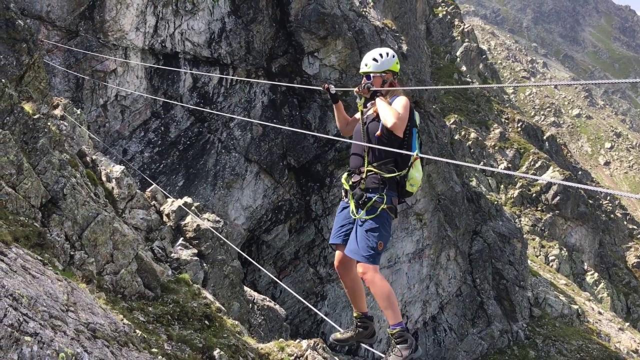 Klettersteig Rating : Klettersteig gargellner köpfe august 2018 im montafon youtube