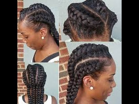 Best Easy Braided Hairstyles for Black Women - YouTube