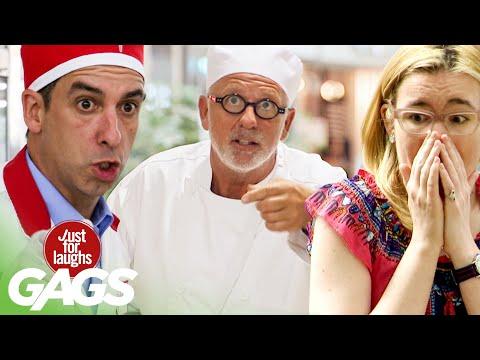 Best Of Food Pranks Vol. 3 | Just For Laughs Compilation