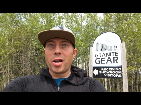 Touring Granite Gear in Two Harbors, MN