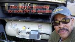 RV Innovative Tip #49 ~ Renewing the RV LP Propane Tank (On Board)