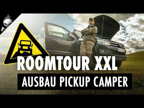 ROOMTOUR XXL in voller Länge ???? Große Veränderung steht an!!! Ausbau Pickup-Camper 05/2020