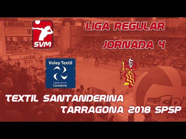 Textil Santanderina vs Tarragona 2018 SPSP
