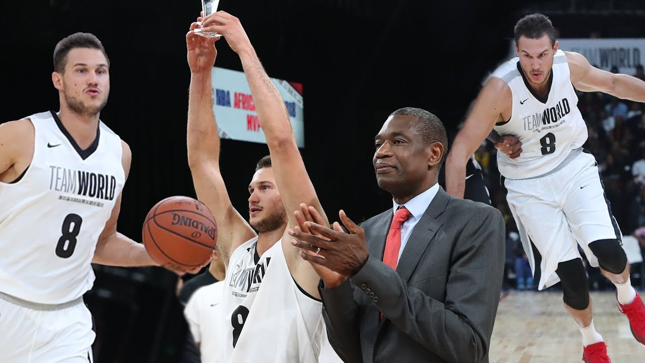 Danilo Gallinari Named NBA Africa Game 2018 MVP With 23 PTS