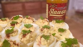 Slawesome Deviled Eggs - Food Product Review