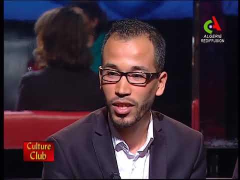 """Tawfiq Belfadel dans l'émission """"Culture club"""" sur Canal Algérie"""