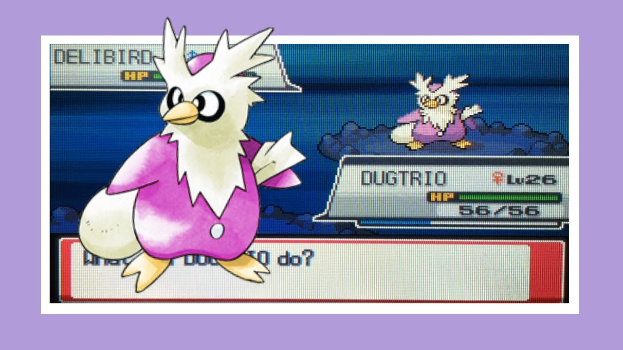 LIVE!!! Shiny Delibird after 2161 REs! (Phase 1)