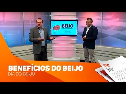 Benefícios do beijo - Dia do beijo - TV SOROCABA/SBT