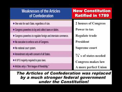 articles of confederacy vs constitution Article iii section 2(1) of the confederate constitution combines the first clause of article iii section 1 in the us constitution with amendment xi the phrase citizens of the same state is left out and and foreign states, citizens or subjects but no state shall be sued by a citizen or subject of any foreign state is added in the confederate.