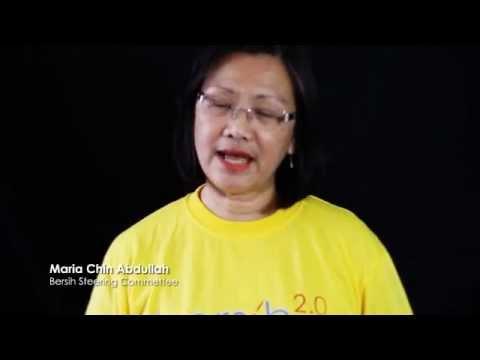 Maria's message, Bersih steering committee (