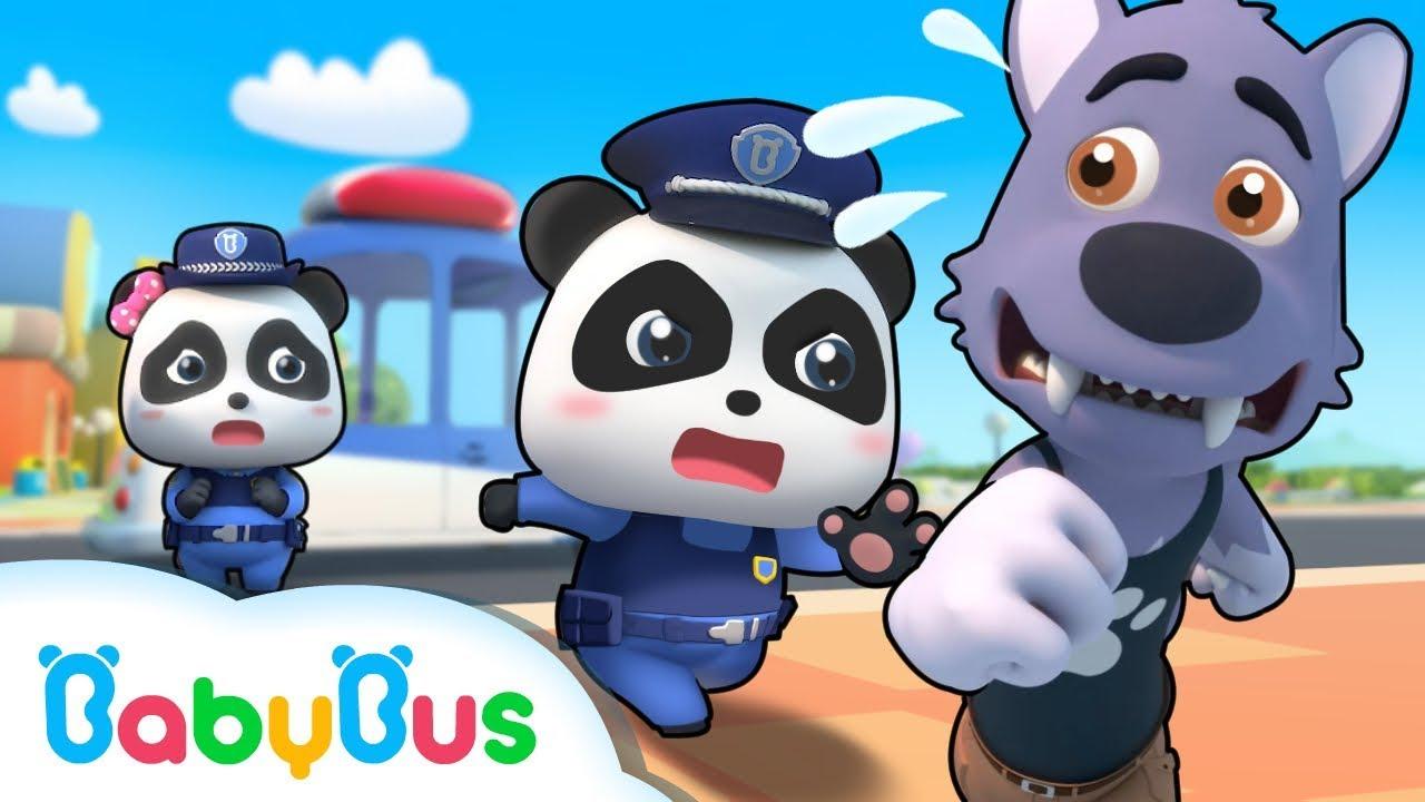Download Bayi Panda Menjadi Polisi Pemberani   Kumpulan Film Panda   BabyBus Bahasa Indonesia