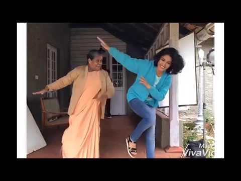 saniyaiyappan and thresiamma little steps