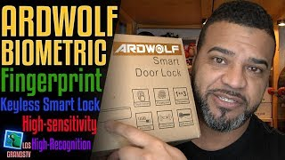Ardwolf A20 Biometric Keyless Smart Door Lock 🚪 🔐 : LGTV Review