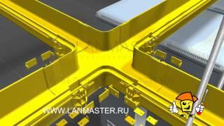 Пластиковые распределительные лотки  LANMASTER(, 2014-12-23T12:16:25.000Z)