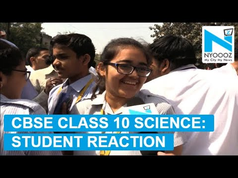 CBSE Class 10 Board Exam 2018: Paper Analysis of Science | NYOOOZ TV