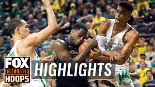 Oregon vs Washington | Highlights | FOX COLLEGE HOOPS