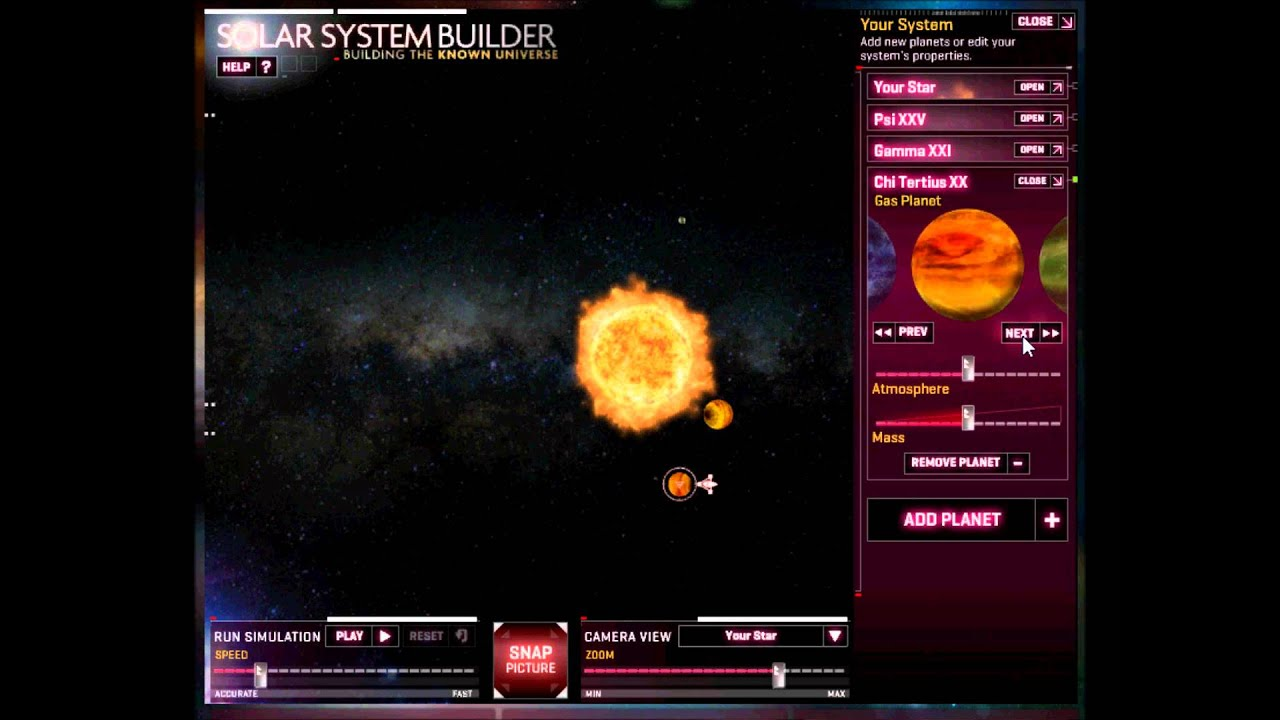 solar system builder - photo #2