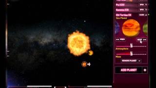 Solar System Builder