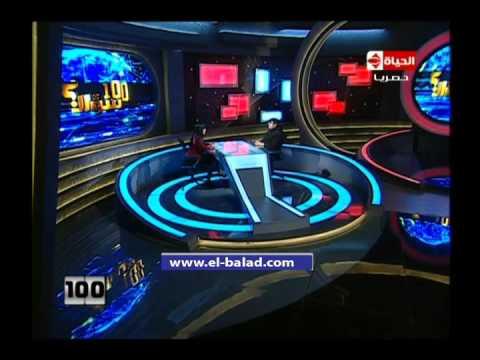 محي إسماعيل يقلد معمر القذافي باحترافية
