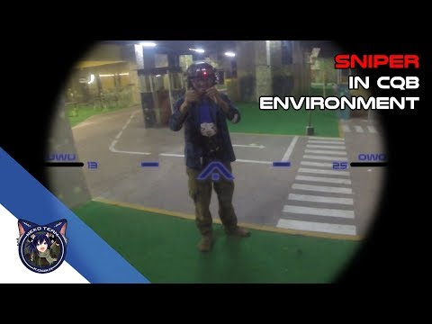 [Neko Airsoft Team] Got Hit In The Balls| Indonesia Airsoft Sniper Gameplay in CQB #2