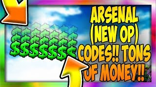 (*2* NEW OP CODES) ARSENAL (GAME) [Roblox]