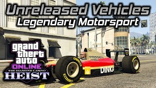 GTA Online Diamond Casino Heist: Unreleased Legendary Motorsport Vehicles Gameplay and Customization